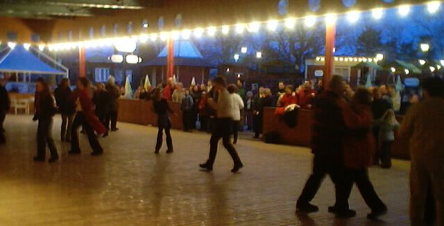 Dance at Walpuris Eve - some dancers have now arrived