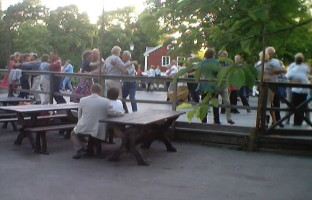 Dance with Slagsta Gille at Skansen